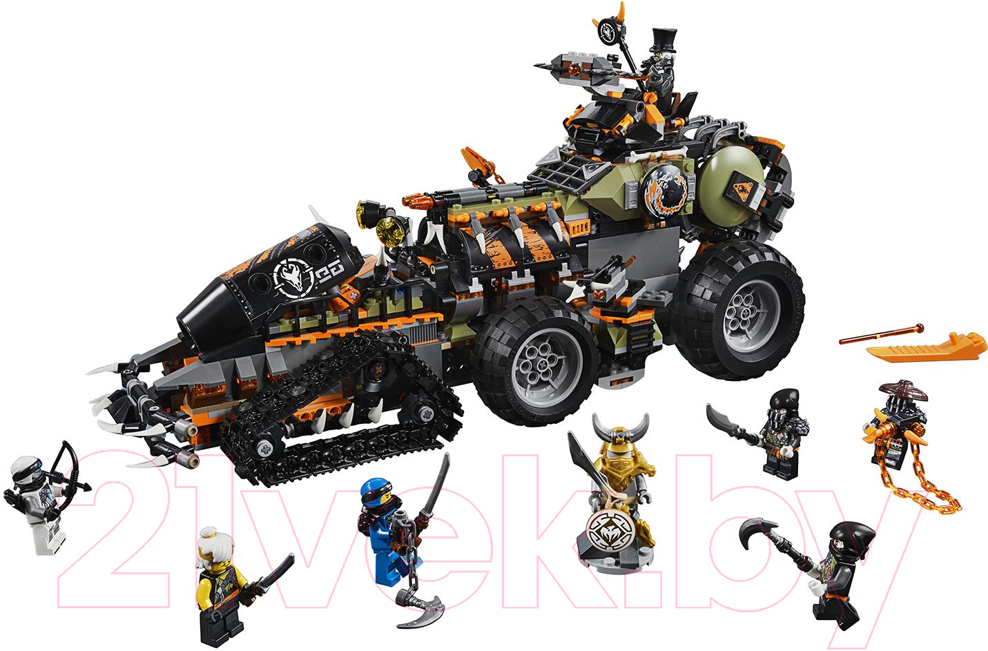 Купить Конструктор Lego, Ninjago Стремительный странник 70654, Китай, пластик