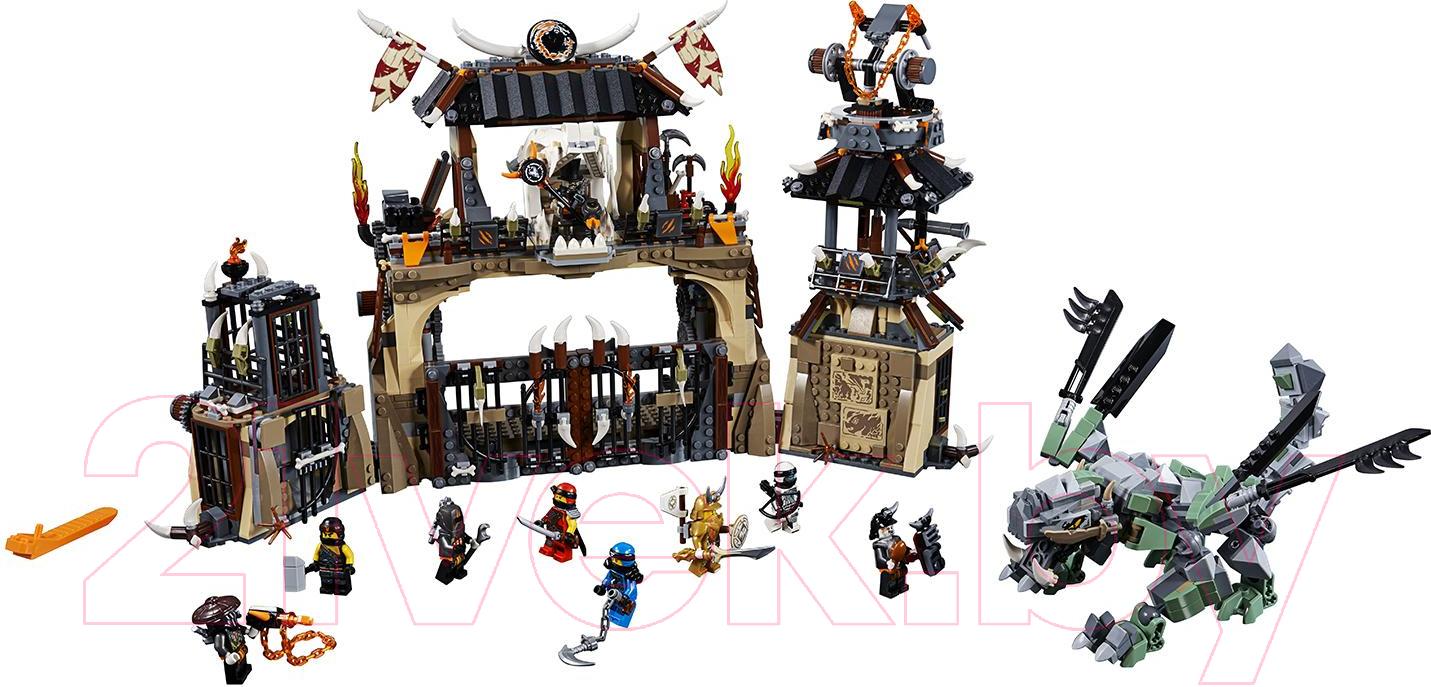 Купить Конструктор Lego, Ninjago Пещера драконов 70655, Китай, пластик