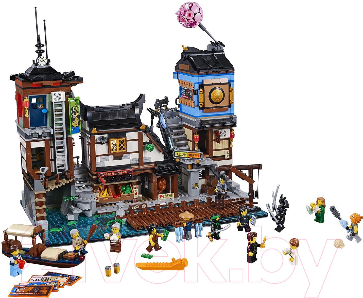 Купить Конструктор Lego, Ninjago Порт Сити 70657, Китай, пластик
