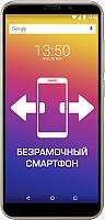 Смартфон Prestigio Wize Q3 / PSP3471DUO (золото) -