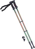 Палки для скандинавской ходьбы Berger Longway 77-135 (темно-зеленый/оранжевый) -