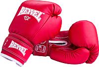 Боксерские перчатки Reyvel RV-101 / 14oz (красный) -