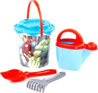 Набор игрушек для песочницы Полесье Marvel Мстители №6 / 81582 -