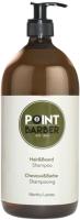 Шампунь для волос Farmagan Point Barber Hair & Beard Shampoo Освежающий (1л) -