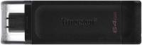 Usb flash накопитель Kingston DataTraveler 70 64GB Black (DT70/64GB) -