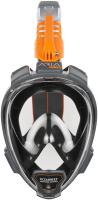 Маска для плавания Ocean Reef Aria Qr+ Snork / OR019020 (L, черный) -