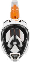 Маска для плавания Ocean Reef Aria Qr+ Snork / OR019022 (L, белый) -