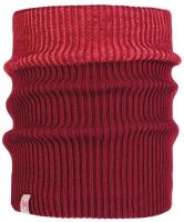 Бафф детский Buff Jr Knitted & Polar Neckwarmer Audny Wine (117880.403.10.00) -