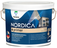 Грунтовка Teknos Nordica Pohjamaali Primer (900мл, белый) -