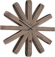 Часы каркасные Umbra Ribbonwood 118071-746 (состаренный орех) -