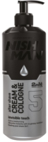 Крем после бритья NishMan 05 After Shave Cream Cologne Invisible Touch 2 in 1 (200мл) -