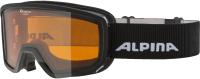 Маска горнолыжная Alpina Sports 2020-21 Scarabeo S DH / A72621-31 (черный) -