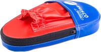 Боксерские лапы RuscoSport 30x18x20 (2шт, красный/синий) -