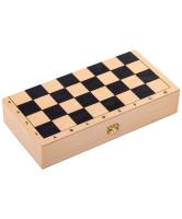 Набор настольных игр No Brand Классика малая шашки, шахматы, нарды 3 в 1 / 086-12 -