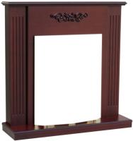 Портал для камина Смолком Lumsden STD-ASP (махагон коричневый антик) -