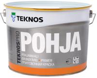 Грунтовка Teknos Teknospro Pohja (9л, белый) -