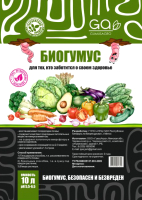 Удобрение Гумус Агро Биогумус (10л) -