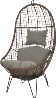 Кресло подвесное GreenDeco Мальта 9840279 (коричневый) -