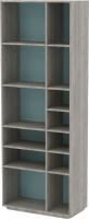 Стеллаж 3Dom Фореста РС400 (дуб бардолино серый/голубой горизонт) -