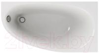 Ванна акриловая Aquatek Дива 160x90 R (с ножками) -