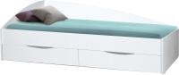 Односпальная кровать Олмеко Фея-3 New 90x200 (белый) -