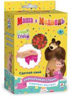 Набор для создания слайма 1Toy Слайм тайм. Маша и медведь День варенья / Т16609 -