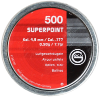 Пульки для пневматики Geco Superpoint (4.5мм, 500шт) -