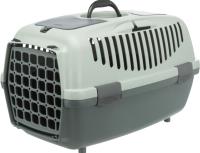 Переноска для животных Trixie Be Eco Capri 3 / 39807 (антрацит/серый/зеленый) -