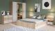 Комплект мебели для спальни Империал Алёна 4 (дуб сонома/белый) -