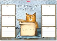 Расписание уроков Erich Krause Cat & Box / 49708 -
