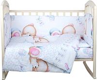Комплект постельный в кроватку Alis Игрушки 4 (бязь) -