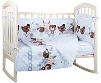 Комплект в кроватку Alis Лучшие друзья 4 (бязь) -