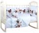 Комплект постельный в кроватку Alis Лучшие друзья 6 -