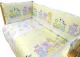 Комплект в кроватку Alis Паровозик звездочка 6 (желтый) -