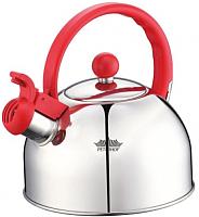 Чайник со свистком Peterhof PH-15641 (красный) -