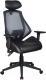 Кресло офисное Signal Q-406 (черный/серый) -