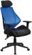 Кресло офисное Signal Q-406 (черный/синий) -
