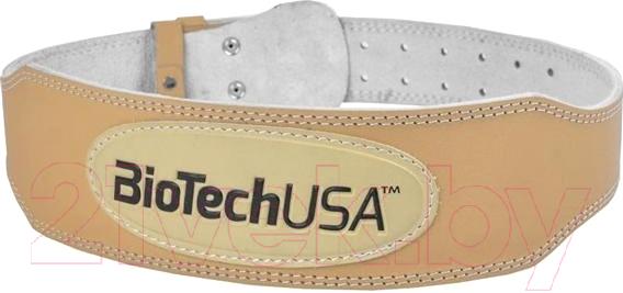 Купить Пояс для пауэрлифтинга BioTechUSA, Austin 2 CIB000573 (M, бежевый), Китай