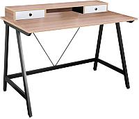 Письменный стол Signal B178 (дуб/черный) -