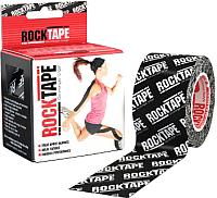 Кинезио тейп RockTape Classic RCT100-BKLOGO-OS / I00003109 (черный) -