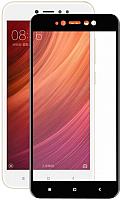 Защитное стекло для телефона Case Full Glue для Redmi 5A (черный глянец) -