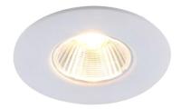 Точечный светильник Arte Lamp Uovo A1425PL-1WH -