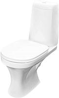 Унитаз напольный Керамин Санти R Premium (с жестким сиденьем и микролифтом) -