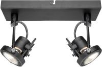 Точечный светильник Arte Lamp Costruttore A4300AP-2BK -