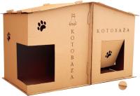 Домик для животных Grifeldecor Kotobaza 2в1 / BZ209-18C310 -