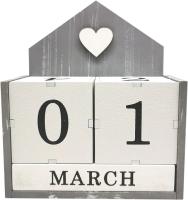 Вечный календарь Grifeldecor Домик / BZ192-22С278 -