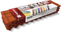 Резиновая плитка VORTEX 24058 (коричневый) -