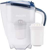 Фильтр питьевой воды Philips AWP2922/10 (3л, синий) -