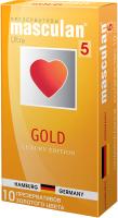 Презервативы Masculan Gold №10 -