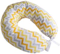 Подушка для беременных Martoo С наволочкой Mommy / MOM-YGZ (желто-серый зигзаг) -